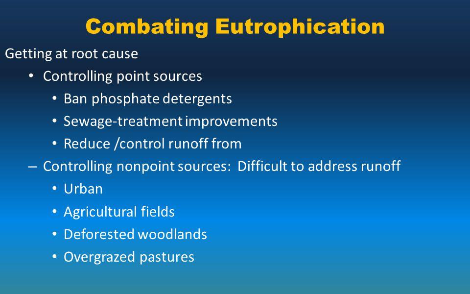 Combating Eutrophication