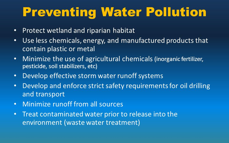 Water Pollution. - ppt download