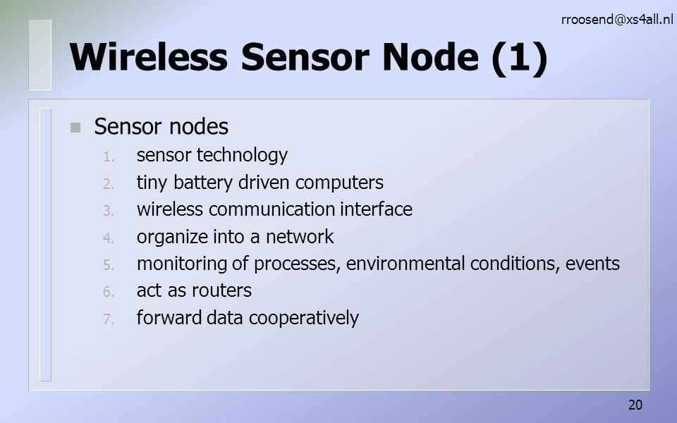 Wireless Sensor Node (1)