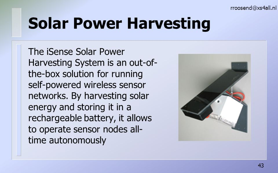 Solar Power Harvesting