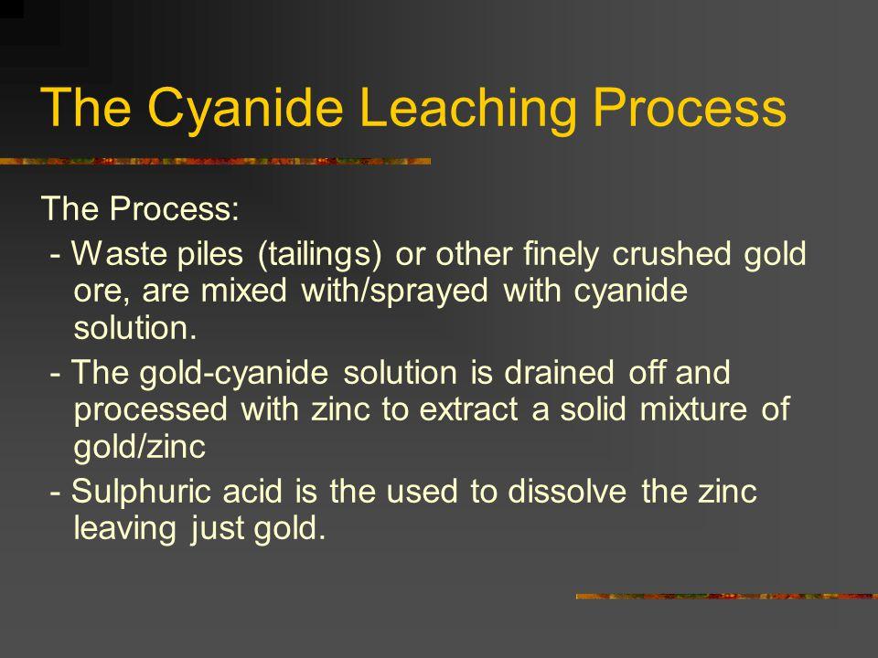 The Cyanide Leaching Process