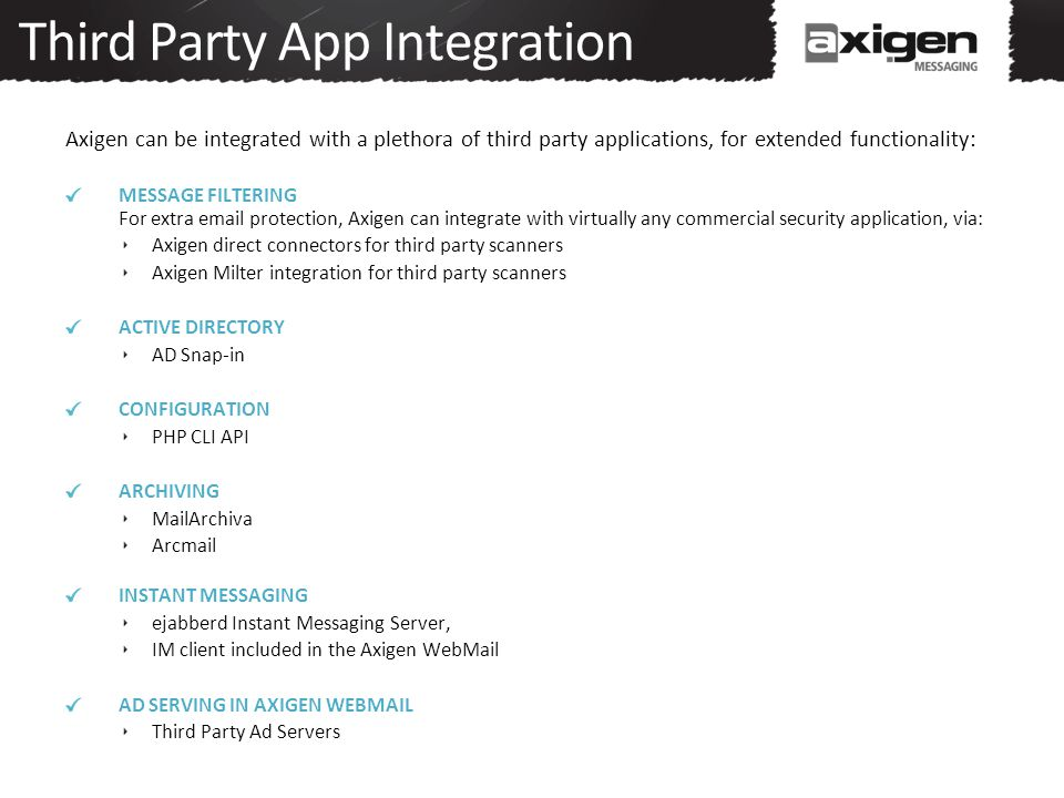 Third Party App Integration