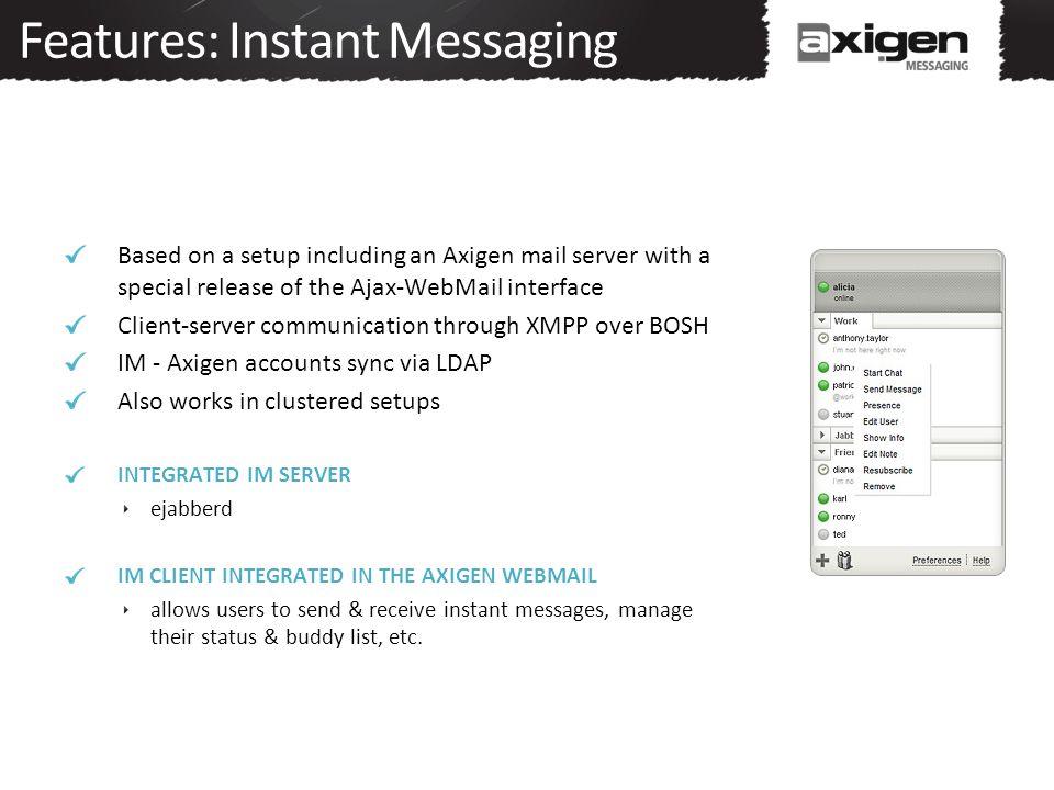 Features: Instant Messaging