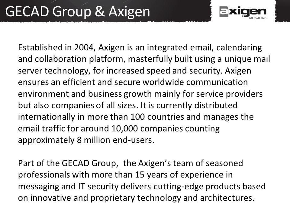 GECAD Group & Axigen