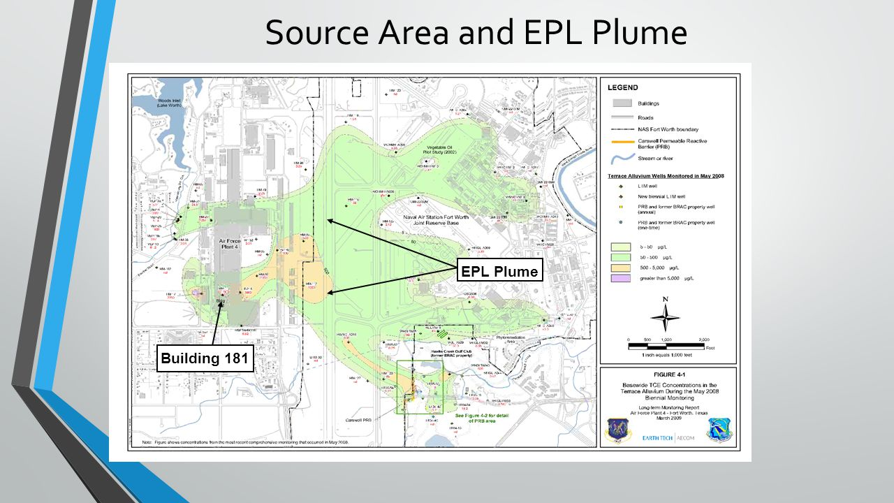 Source Area and EPL Plume