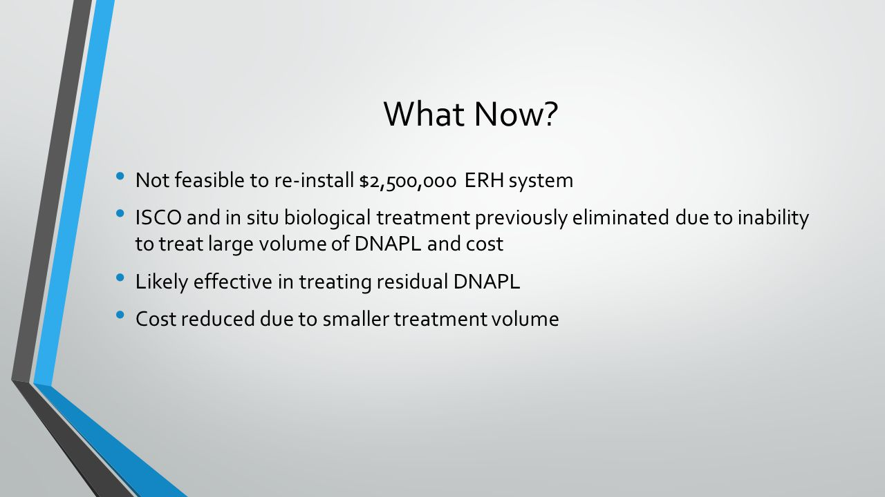 What Now Not feasible to re-install $2,500,000 ERH system