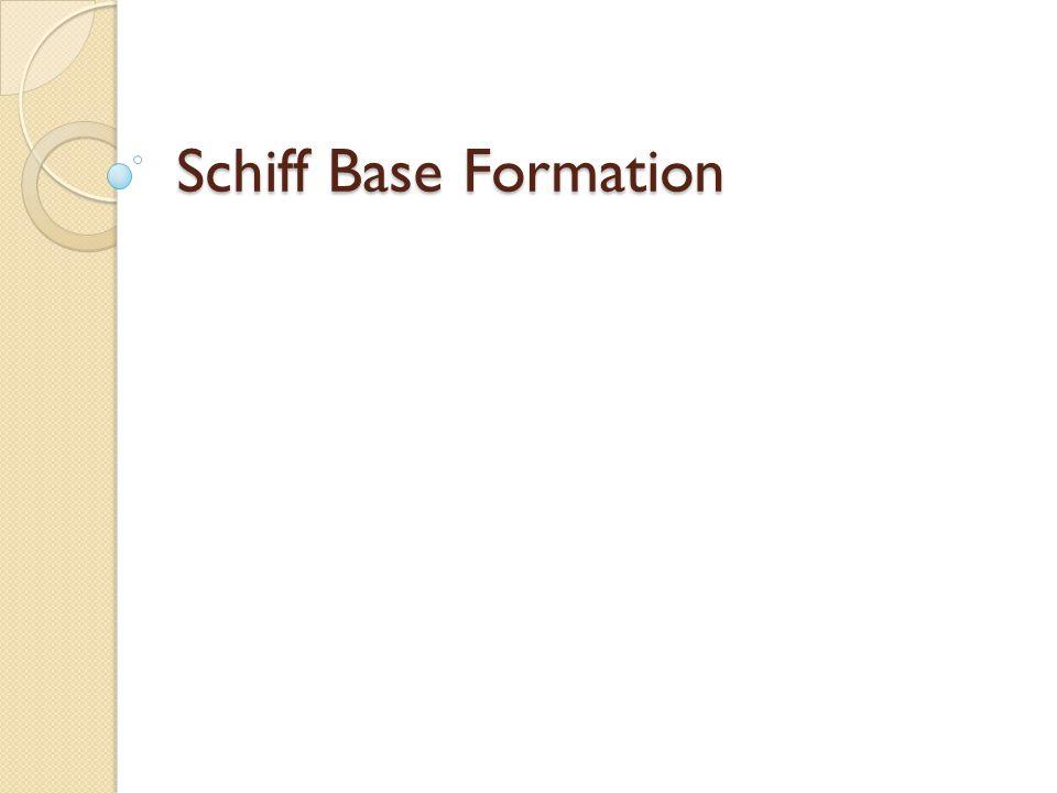 Schiff Base Formation