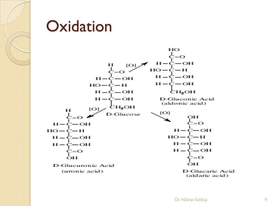 Oxidation Dr. Nikhat Siddiqi