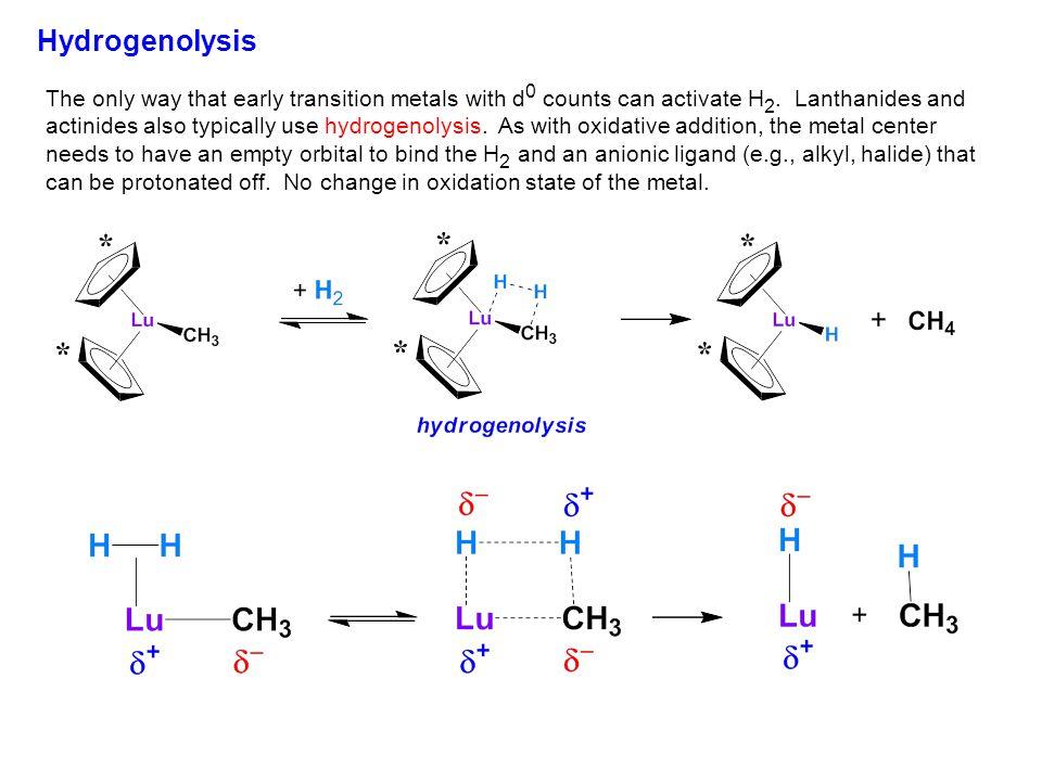 Hydrogenolysis