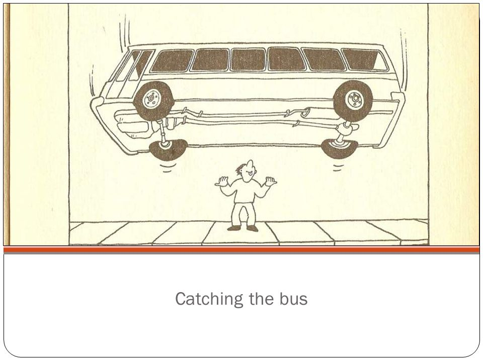 Catching the bus