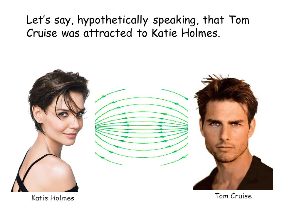 Let's say, hypothetically speaking, that Tom Cruise was attracted to Katie Holmes.