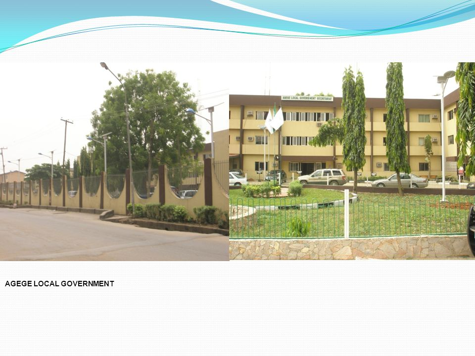AGEGE LOCAL GOVERNMENT