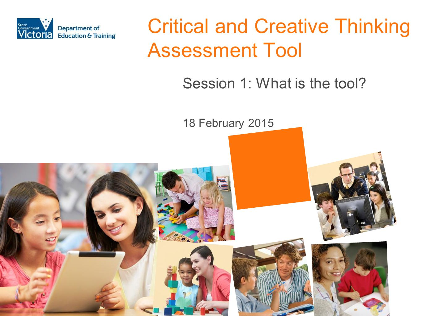 Critical and Creative Thinking Assessment Tool