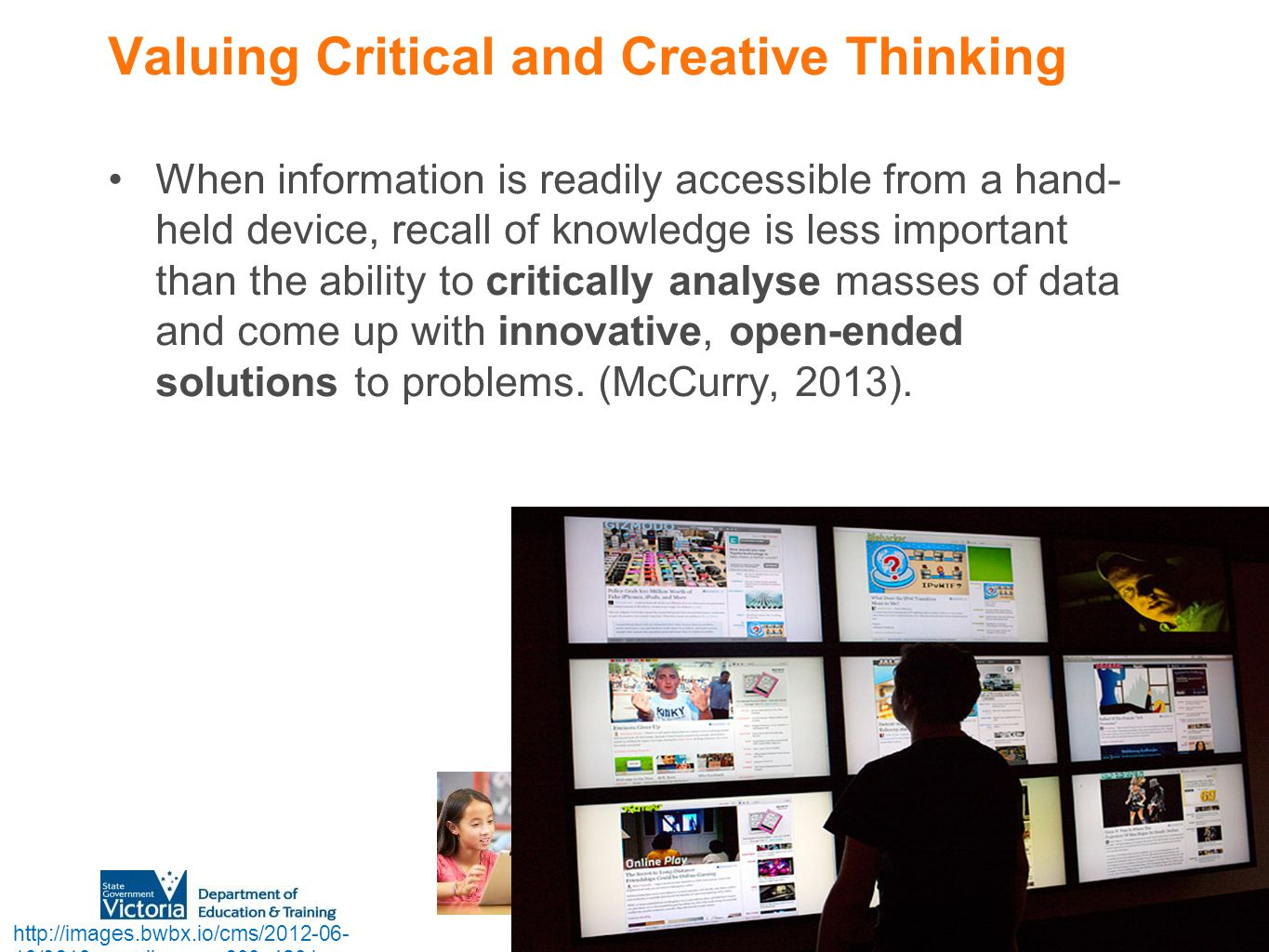Valuing Critical and Creative Thinking