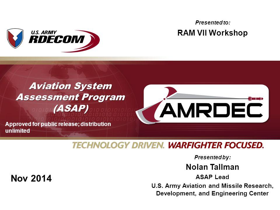 Aviation System Assessment Program (ASAP)