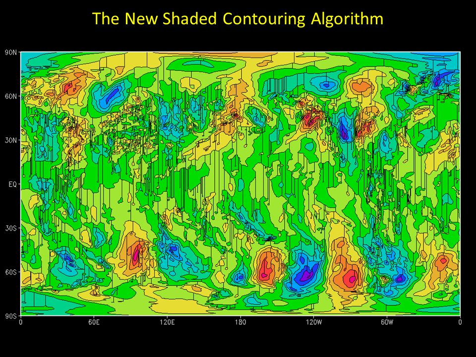 The New Shaded Contouring Algorithm