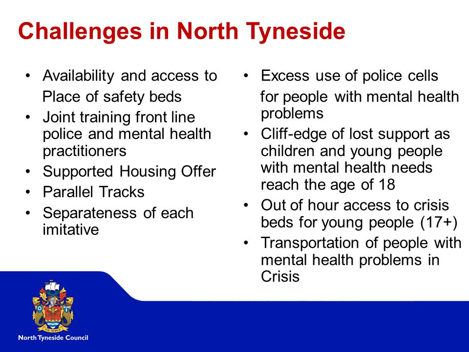 Challenges in North Tyneside