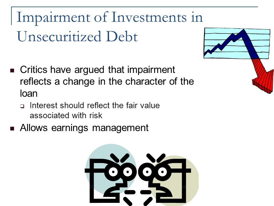 Impairment of Investments in Unsecuritized Debt