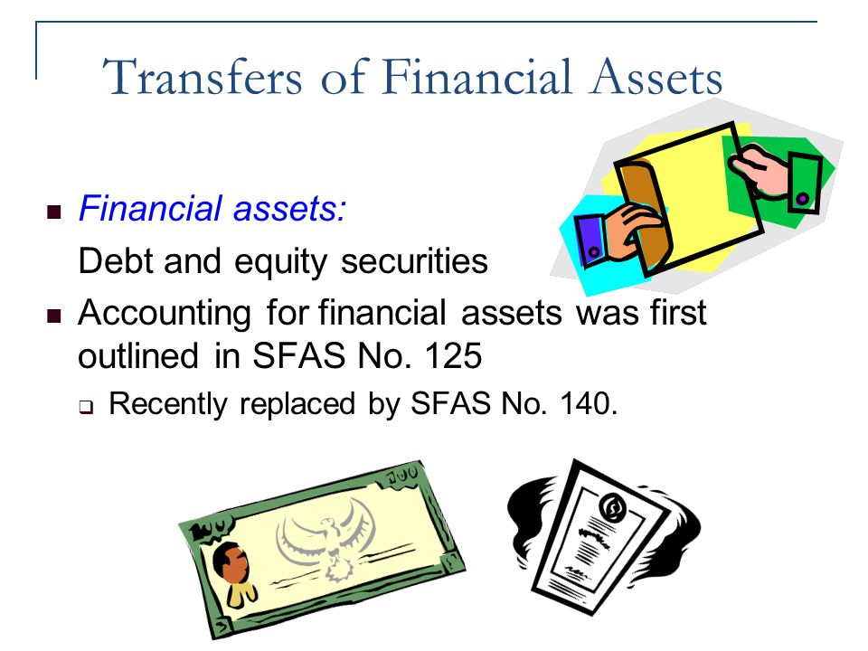 Transfers of Financial Assets
