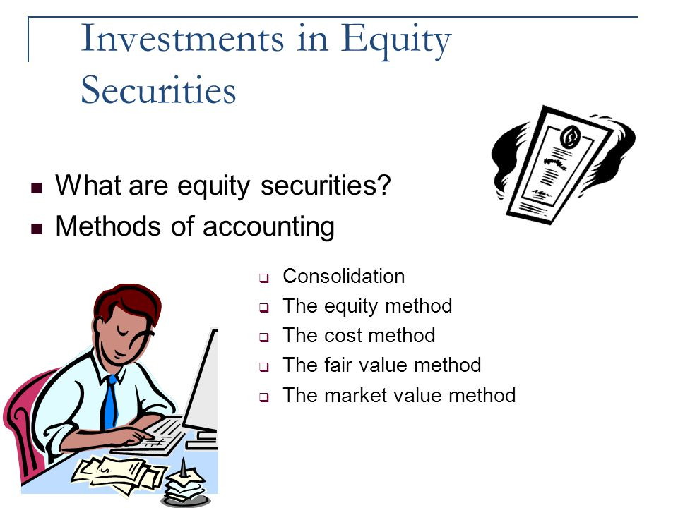 Investments in Equity Securities