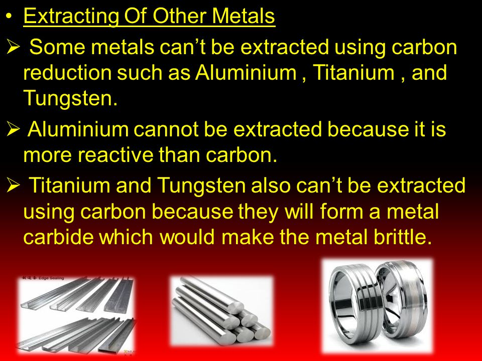 Extracting Of Other Metals