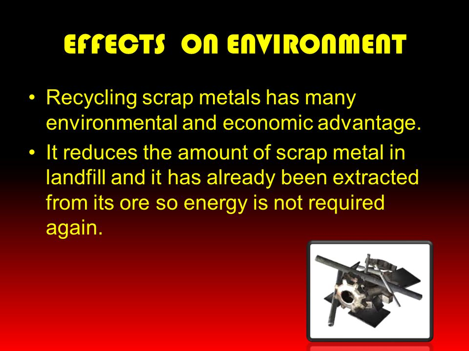 EFFECTS ON ENVIRONMENT