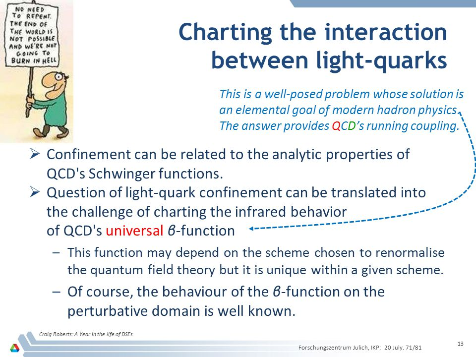 Charting the interaction between light-quarks