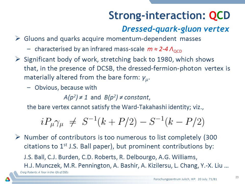 Strong-interaction: QCD