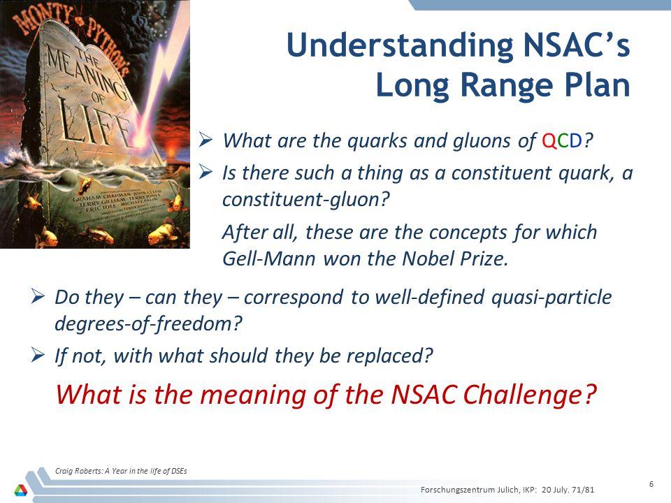 Understanding NSAC's Long Range Plan