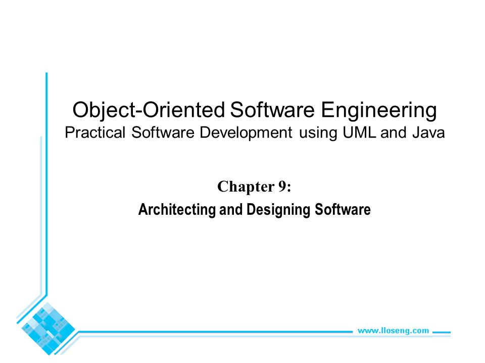 Architecting and Designing Software