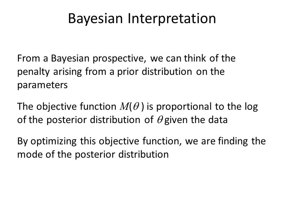Bayesian Interpretation