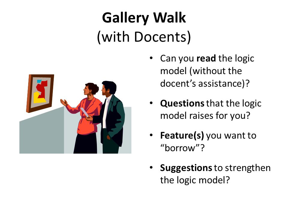 Gallery Walk (with Docents)