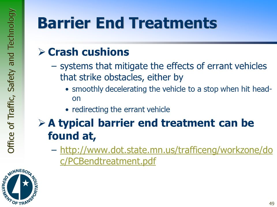 Barrier End Treatments