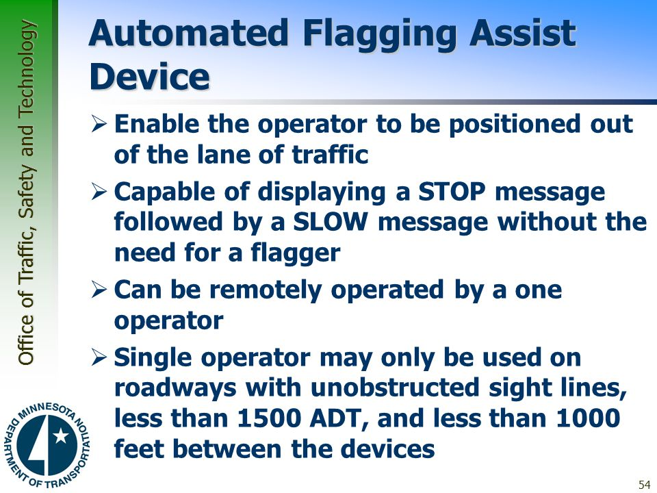 Automated Flagging Assist Device