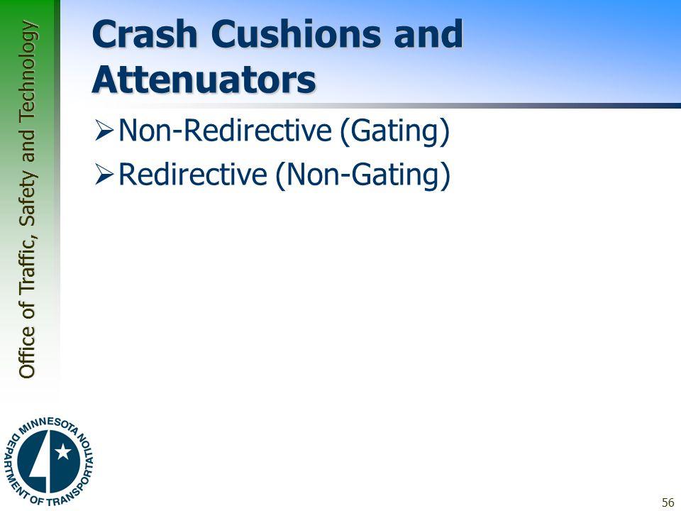 Crash Cushions and Attenuators