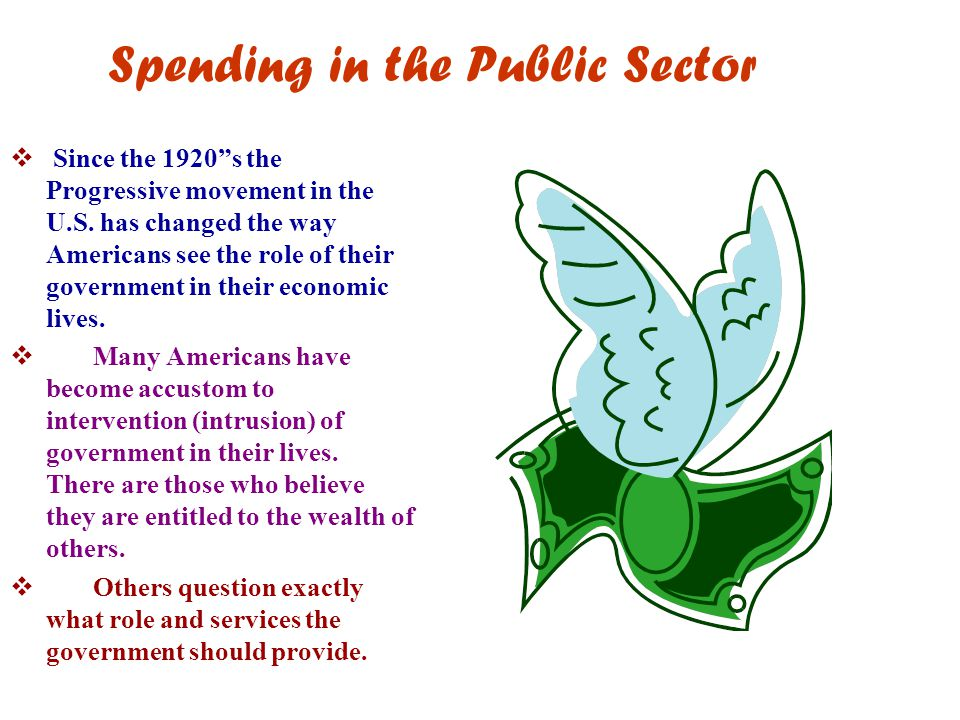 Spending in the Public Sector