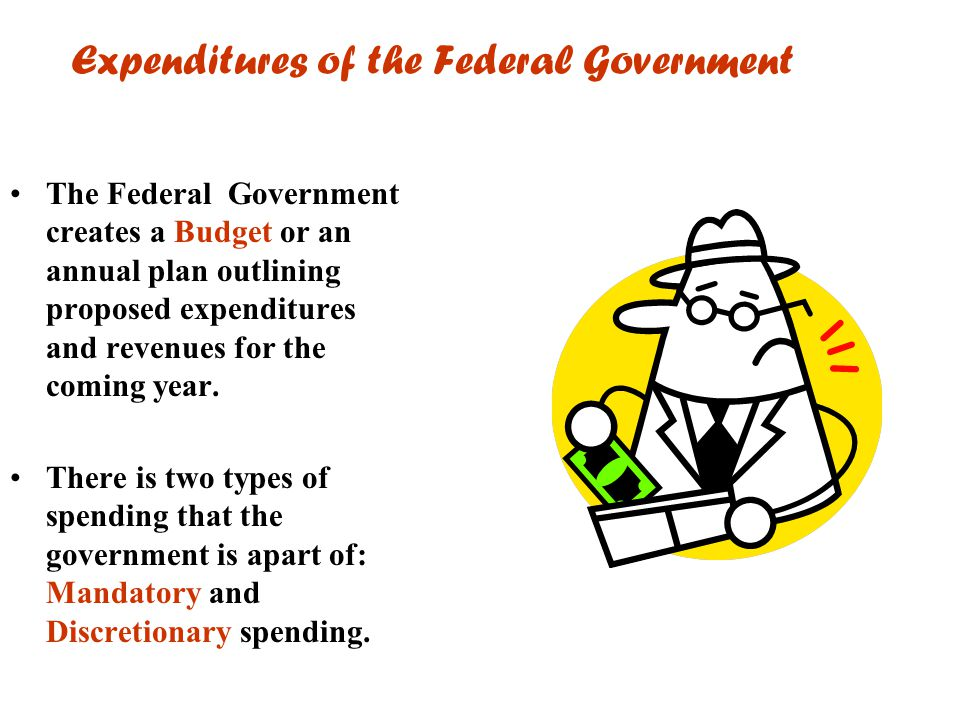 Expenditures of the Federal Government