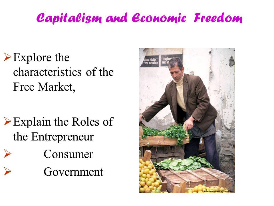 Capitalism and Economic Freedom