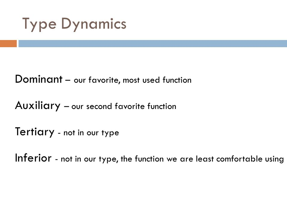 Type Dynamics Dominant – our favorite, most used function
