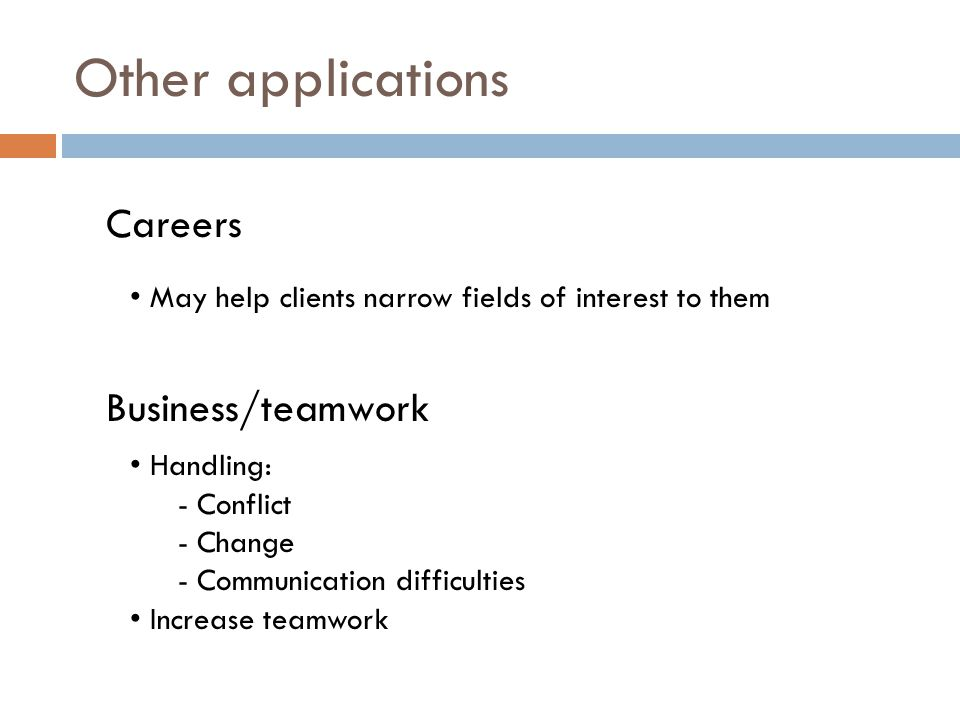 Other applications Careers Business/teamwork