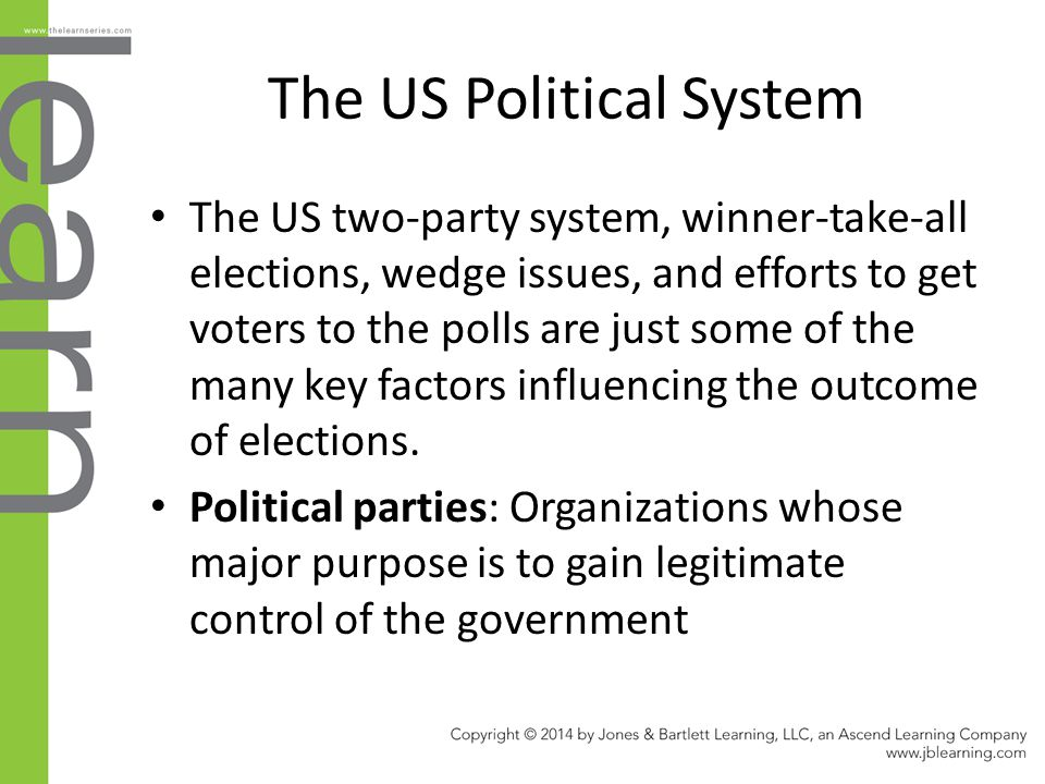 The US Political System