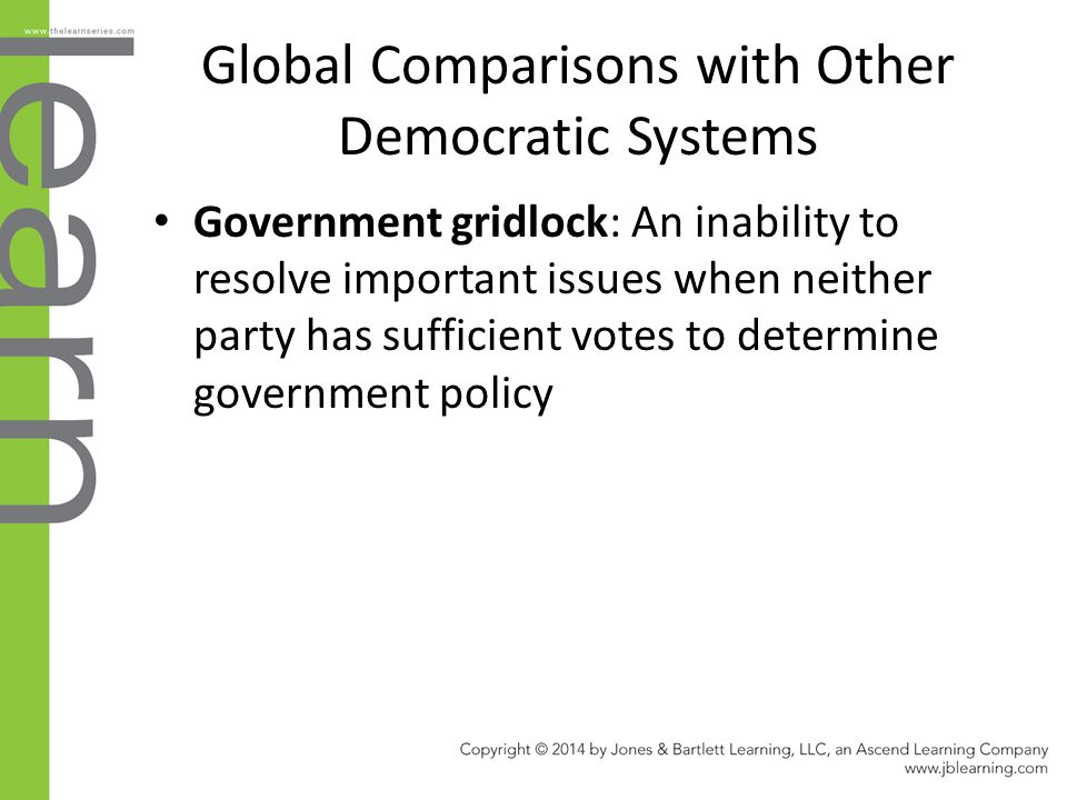 Global Comparisons with Other Democratic Systems
