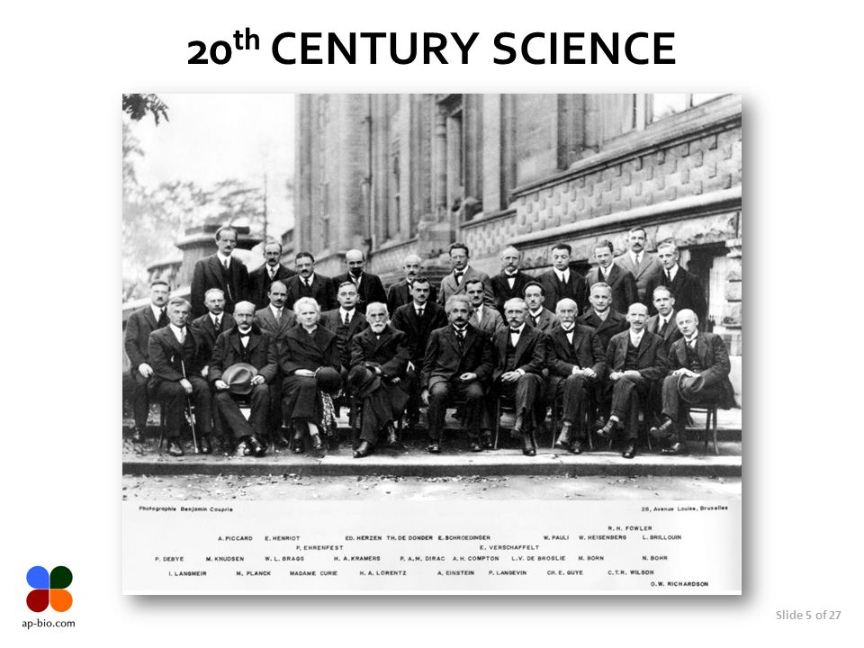 20th Century SCIENCE