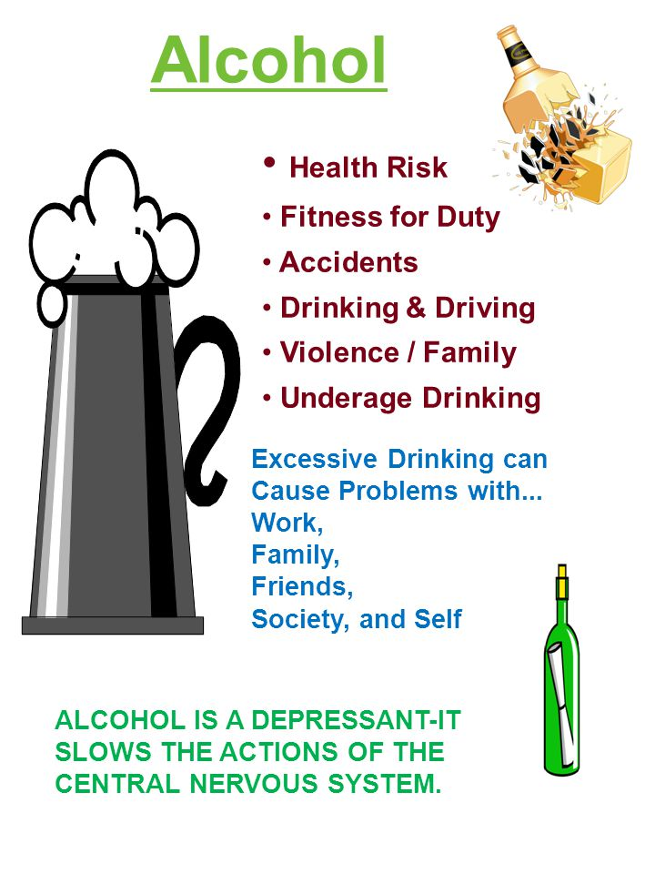 Alcohol Health Risk Fitness for Duty Accidents Drinking & Driving