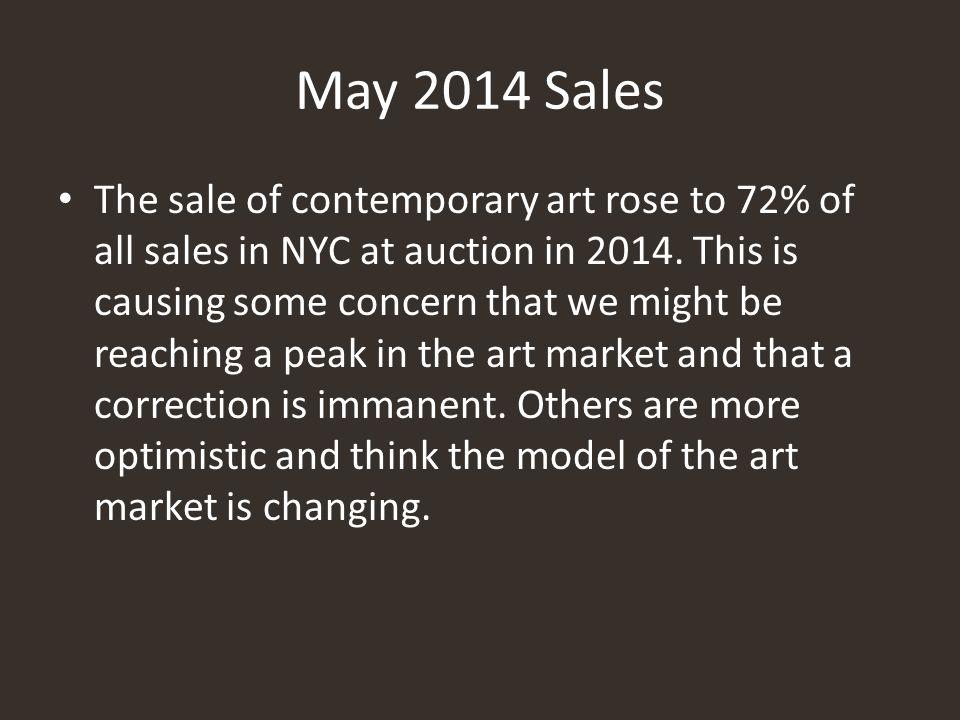 May 2014 Sales