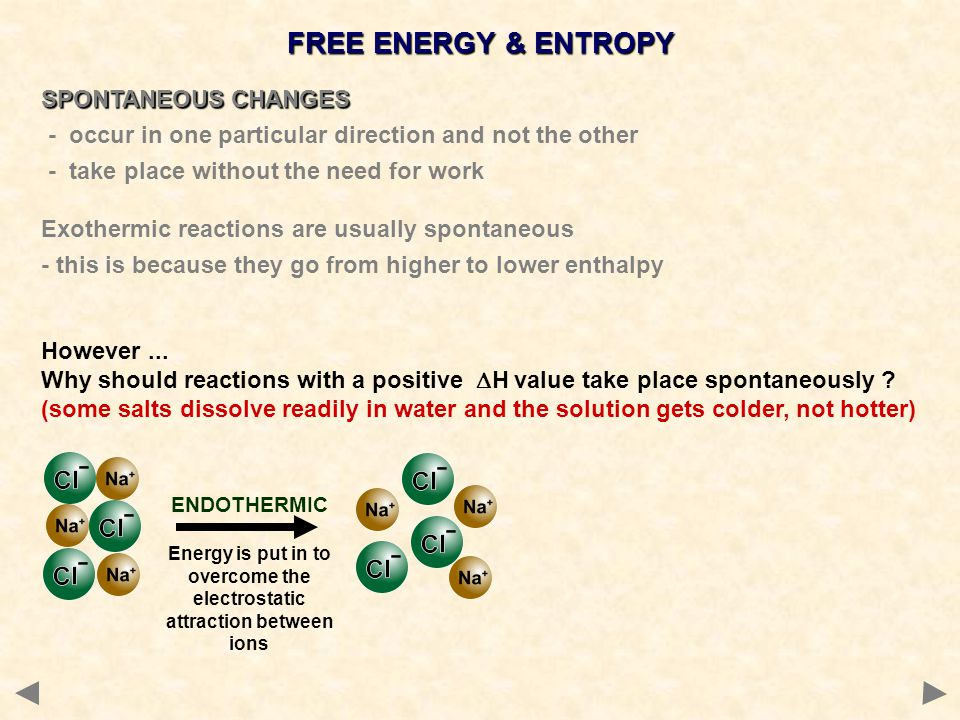 Energy is put in to overcome the electrostatic attraction between ions
