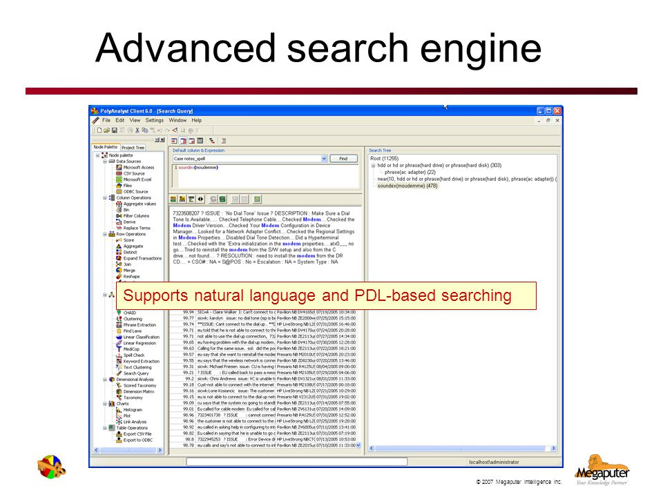 Advanced search engine