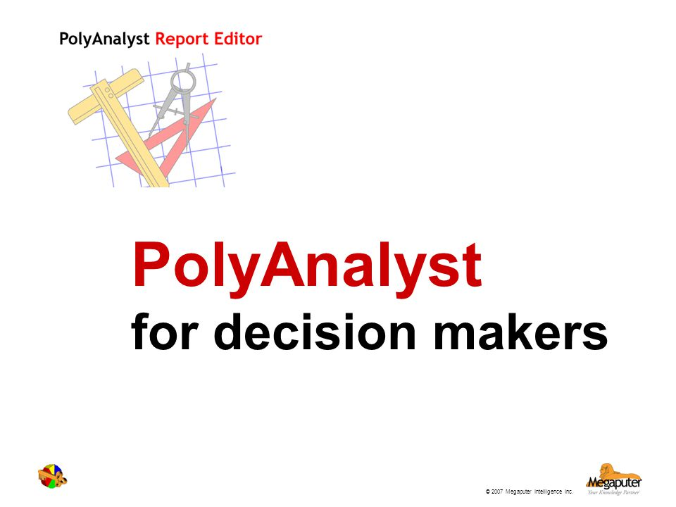 PolyAnalyst for decision makers