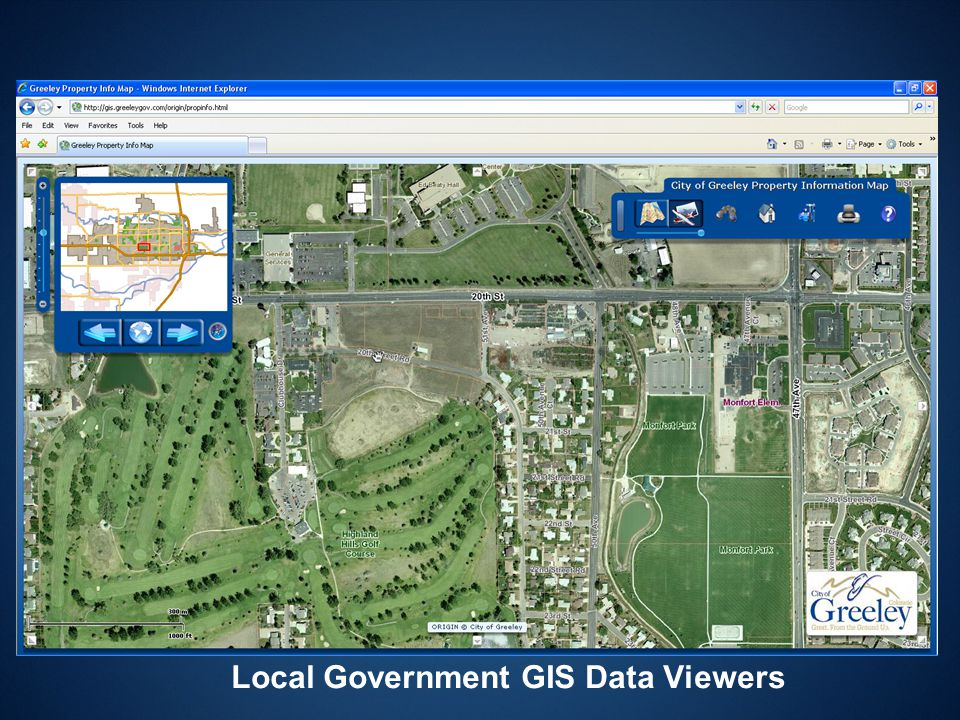 Local Government GIS Data Viewers
