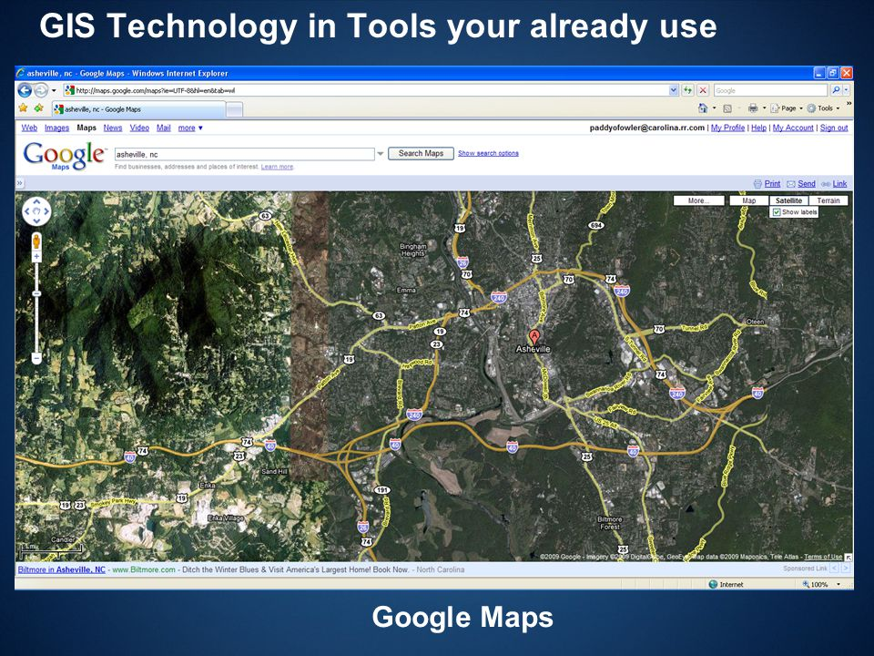 GIS Technology in Tools your already use